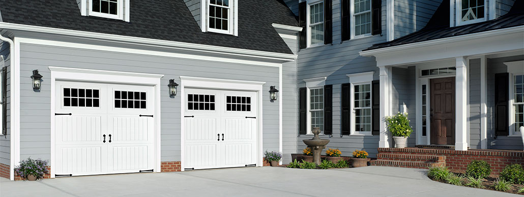 Classica Carriage House Garage Door with Short Panels Example 3