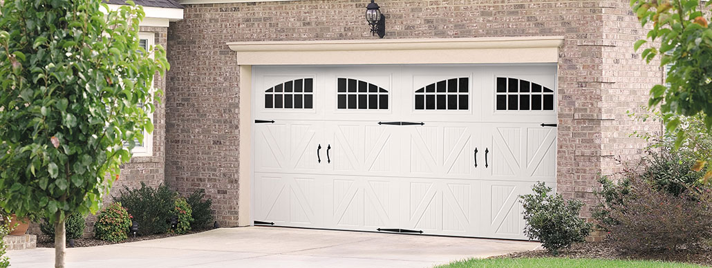 Santiago Carriage House Garage Door Example 1