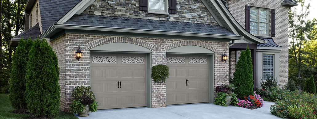Bead Board Carriage House Garage Door Example 2
