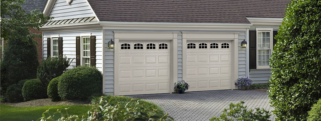 Traditional Steel Garage Door Short Panel Example 12